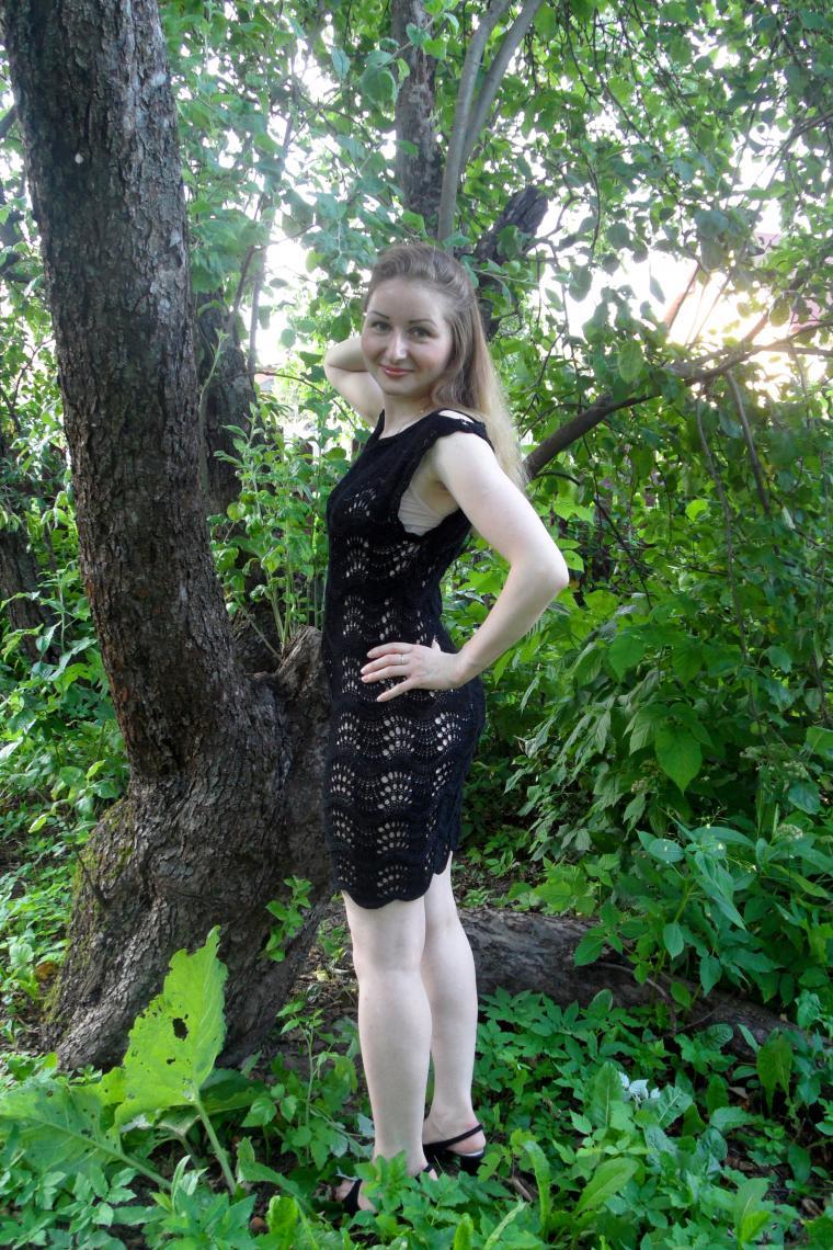 ажурное взаное платье