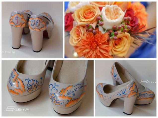 свадьба 2014, туфли, обувь ручной работы