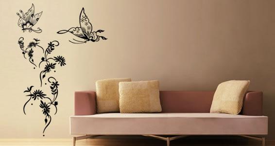 Бабочки как элемент дизайна интерьера, фото № 2