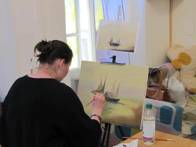 мастеркласс рисования