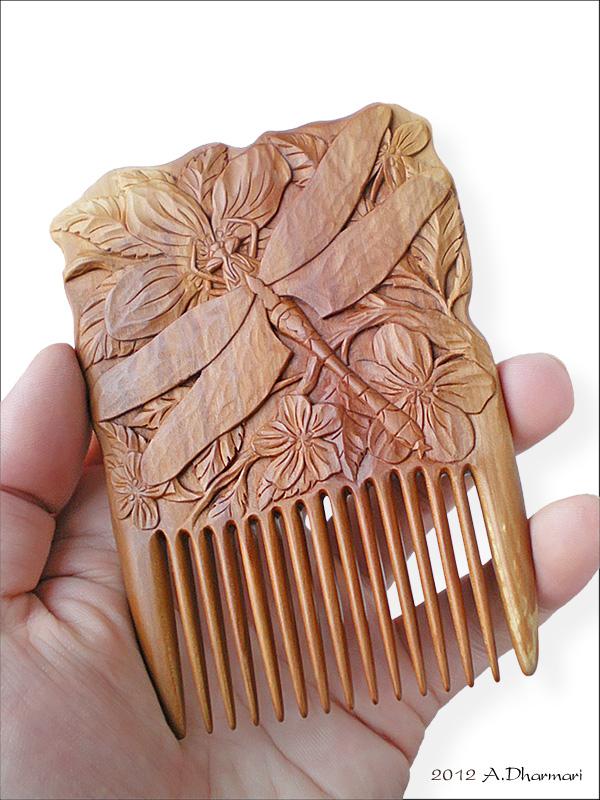 гребень деревянный, подарок женщине, оригинальный подарок, натуральные материалы