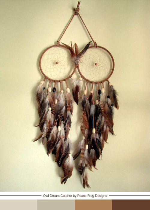 My Owl Barn: Owl Dream Catcher
