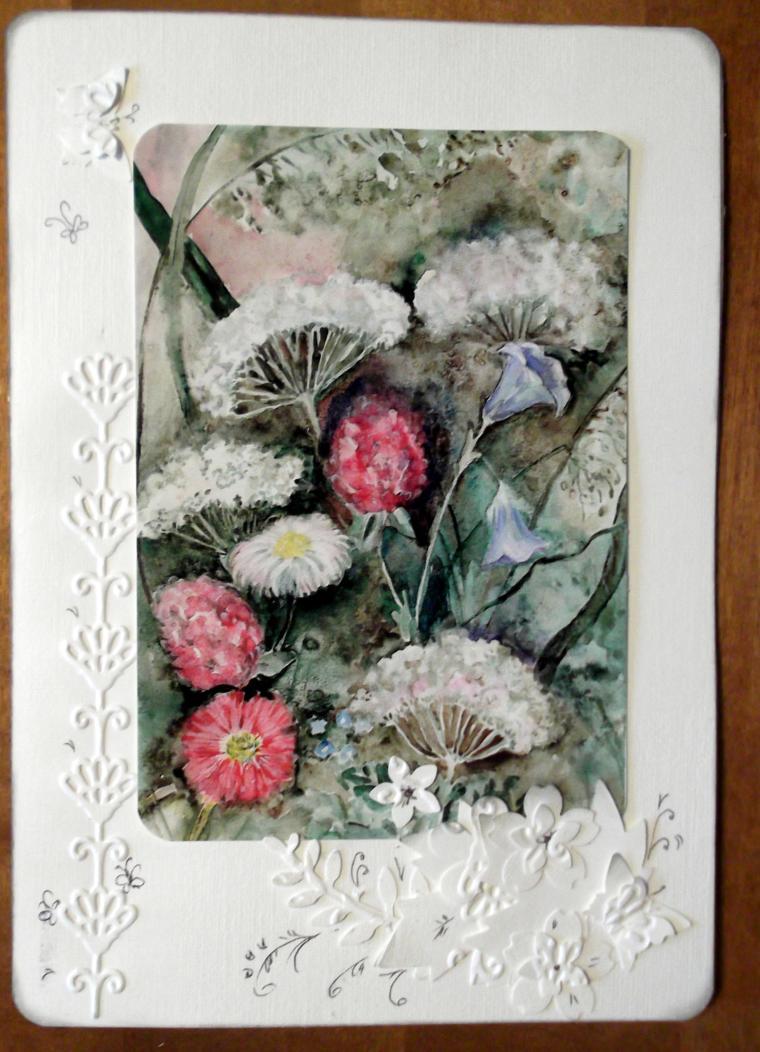 открытки, открытки по моим работам