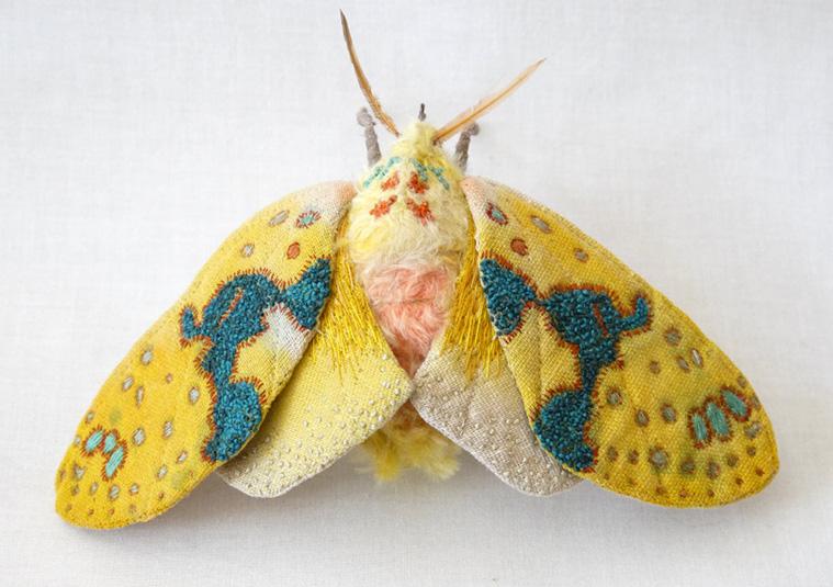 Текстильные шедевры, или Бабочки как источник вдохновения, фото № 29