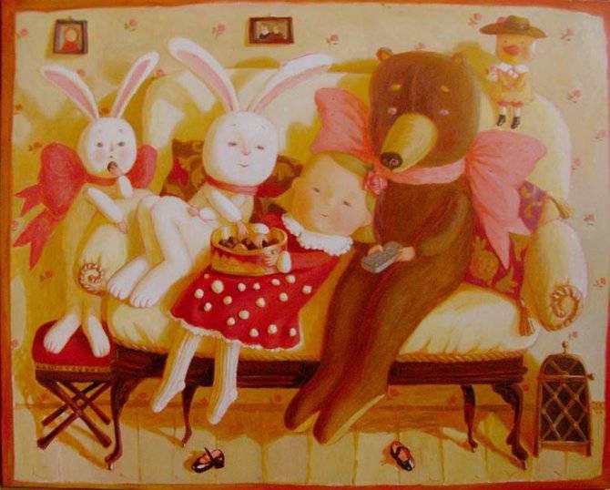 Путешествие в детство с белорусской художницей Анной Королёвой, фото № 7