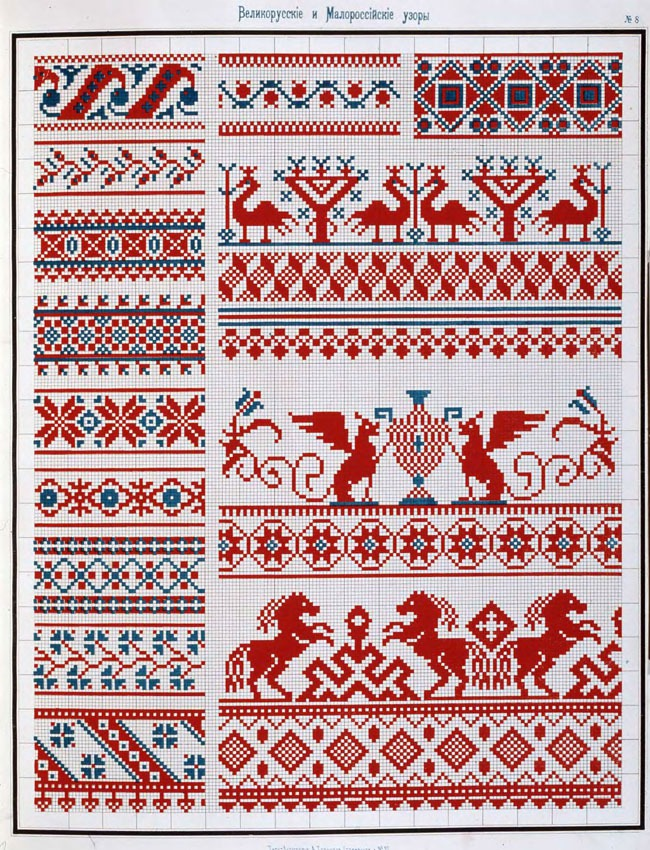 Орнамент традиционной вышивки