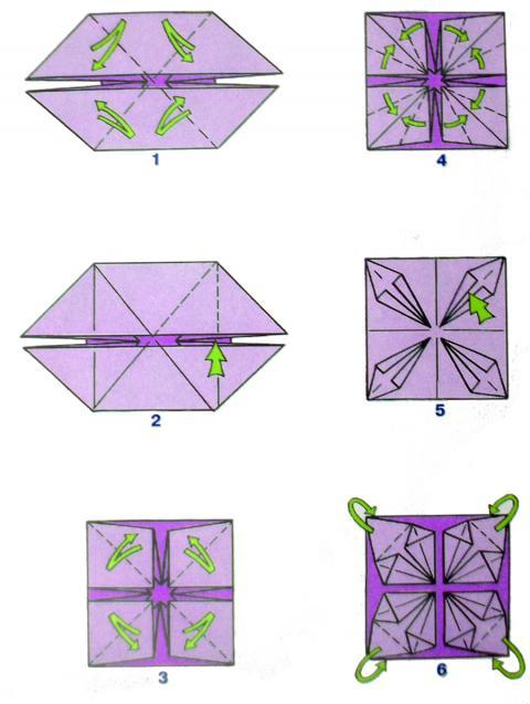 Шары оригами своими руками
