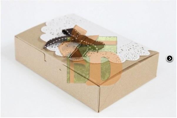 крафт, коробки с разделителями