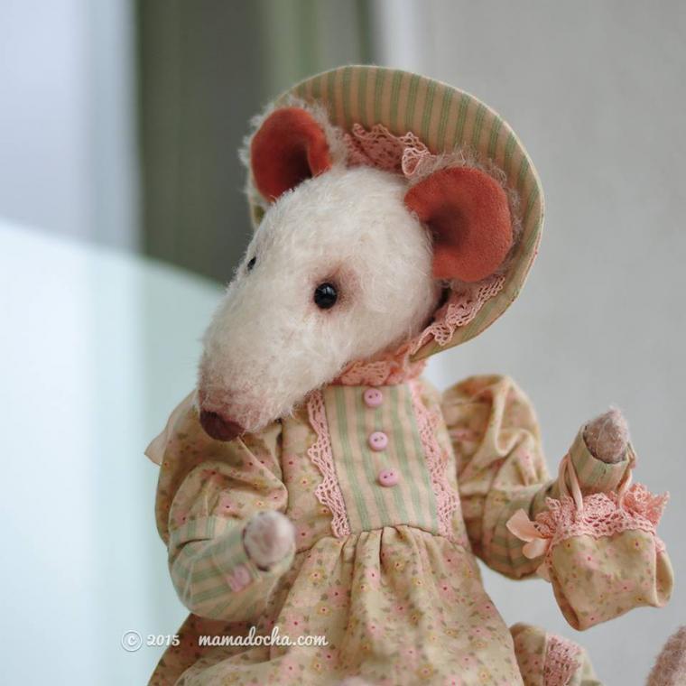 выкройка крысы