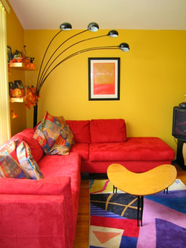Red Painted Room Inspiration amp Project Gallery  Behr