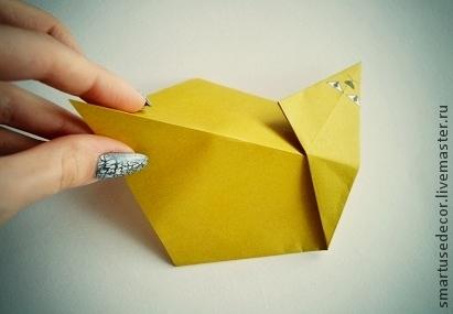 фигурки из бумаги