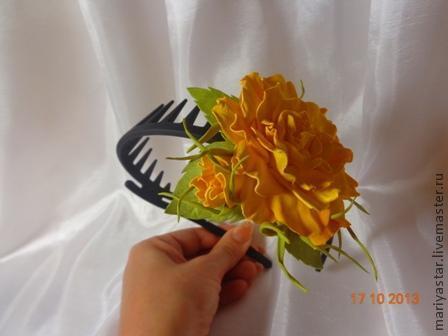 цветы из ткани, розы своими руками