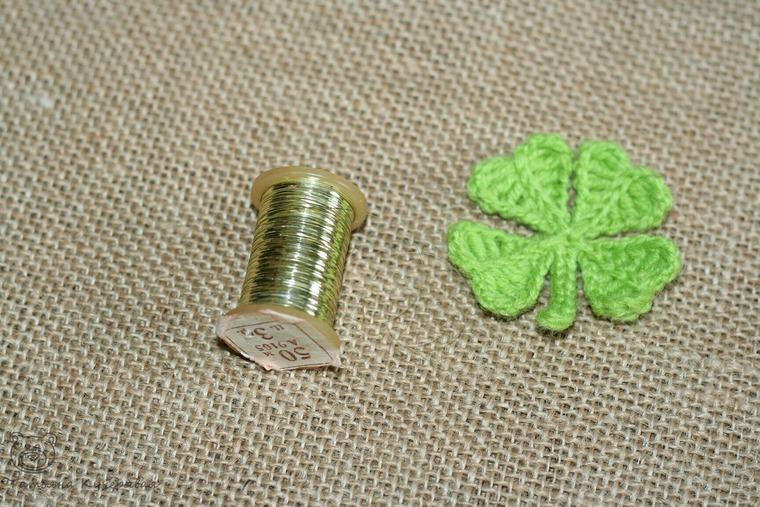 Crochetting a Four Leaf Clover, фото № 20