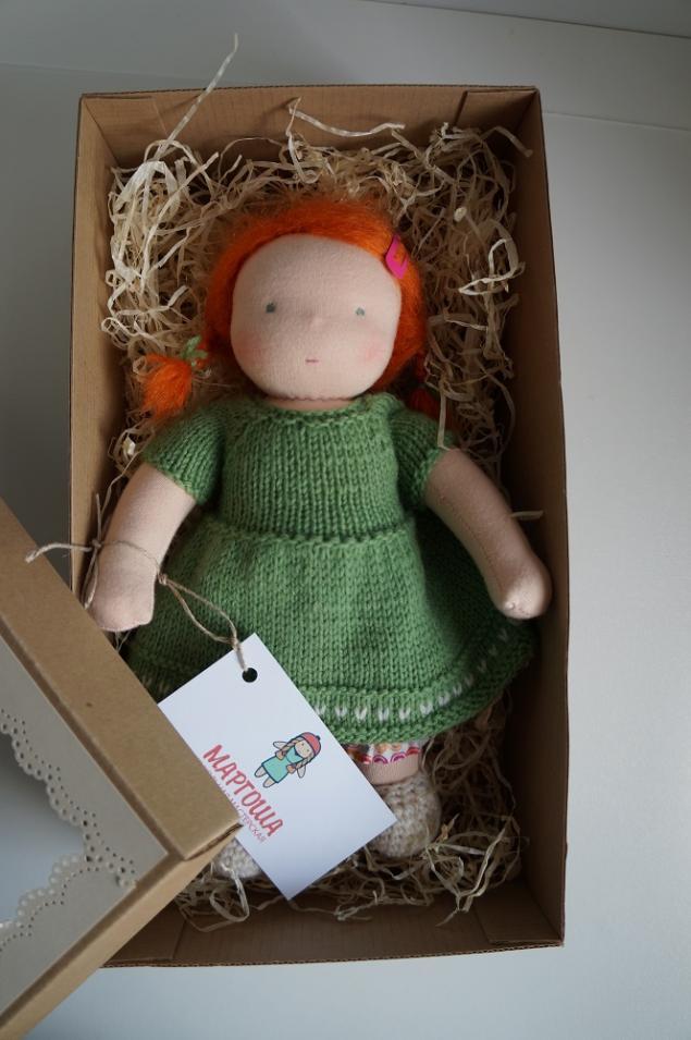 вальдорфская кукла, текстильная кукла