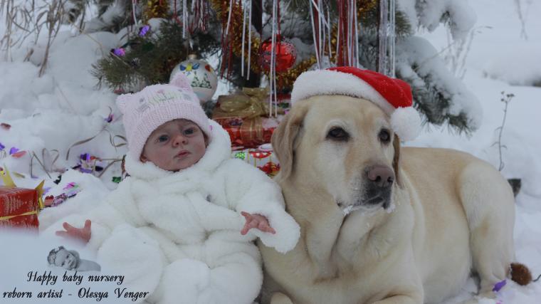 ребенок в новый год