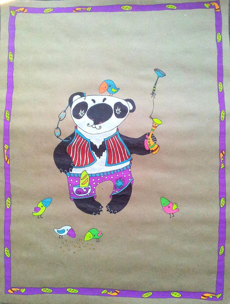панда, позитив
