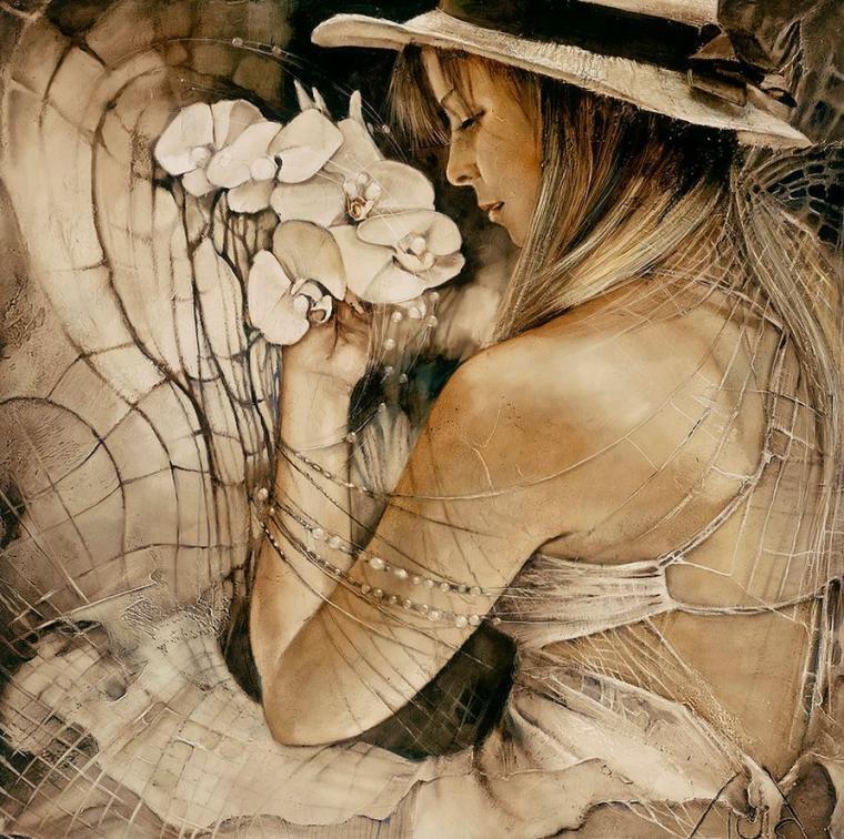 Потрясающие картины idia ylangowska, фото № 11
