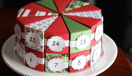новый год 2014, новогодний подарок, календарь, праздничная упаковка, упаковка подарка, идеи для вдохновения, в подарок, для детей, детский праздник, подарок на новый год