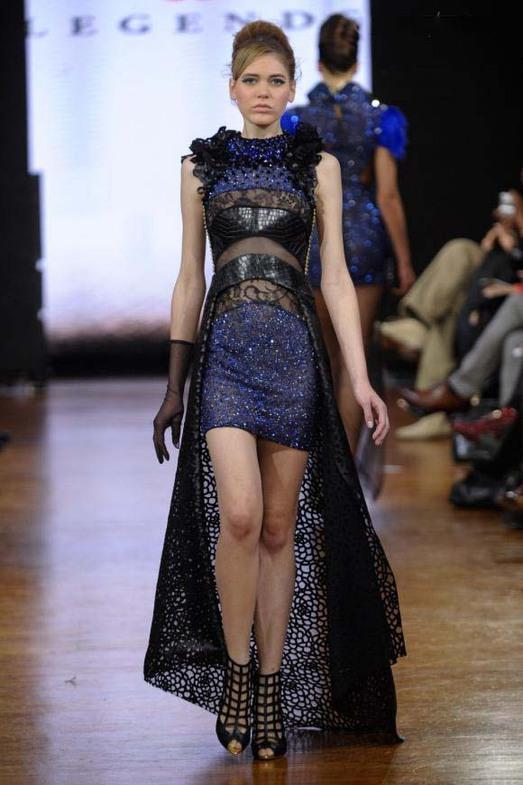 Legends by Bilal Barrage Haute Couture весна-лето 2014, фото № 10