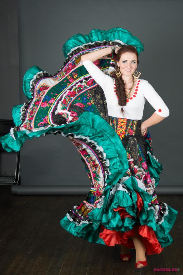 Цыганские юбки для танцев сшить