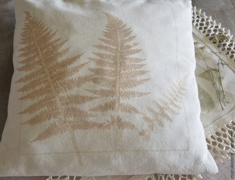 How to Make Plant Prints on Fabric, фото № 19