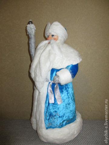 дед мороз из ваты своими руками Montero базового