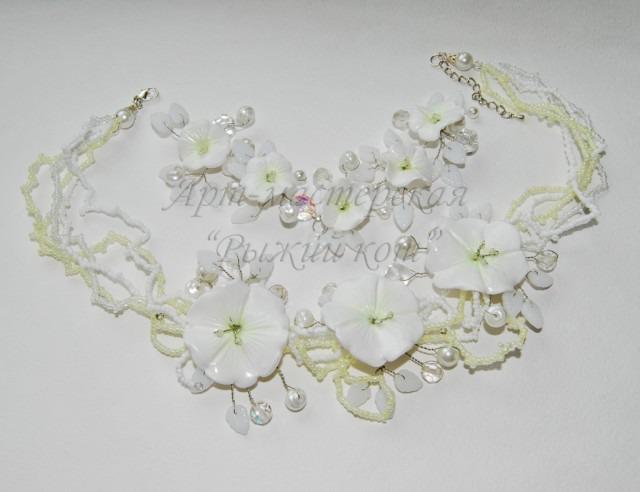 мастер-класс, рукоделие, своими руками, творчество, полимерная глина, цветы из полимерной глины, цветок