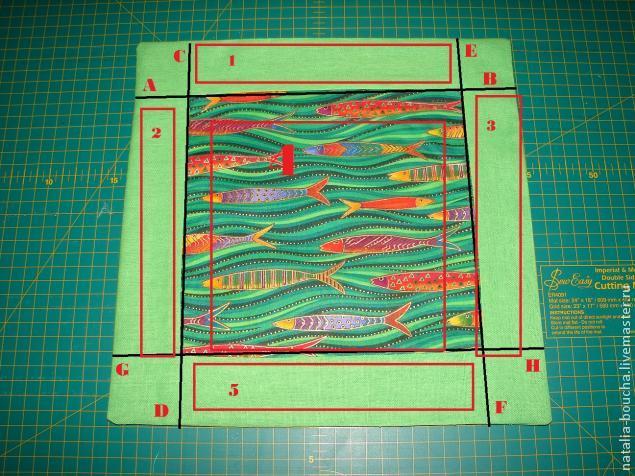 текстильная корзиночка