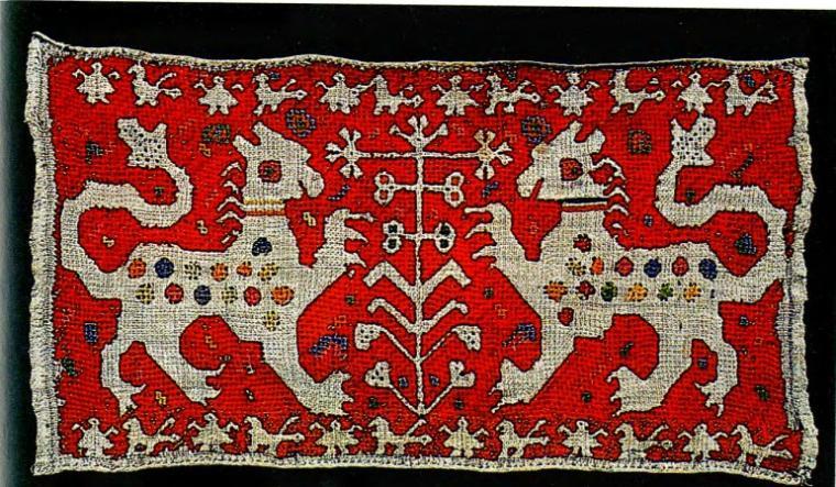 Старинные народные вышивки