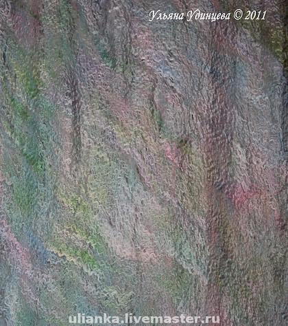 шарф-паутинка