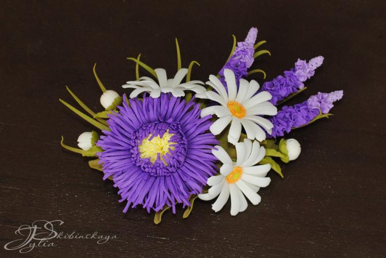 мастер-класс по цветам, цветы из фоамирана