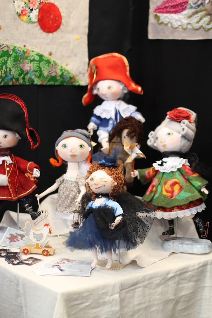 Международной выставка авторских кукол и мишек «Панна DOLL'я» в Минске. Часть 1., фото № 34