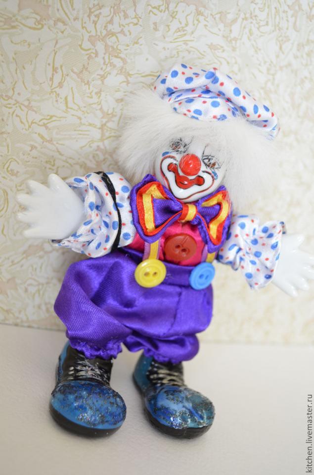 форфоровый клоун