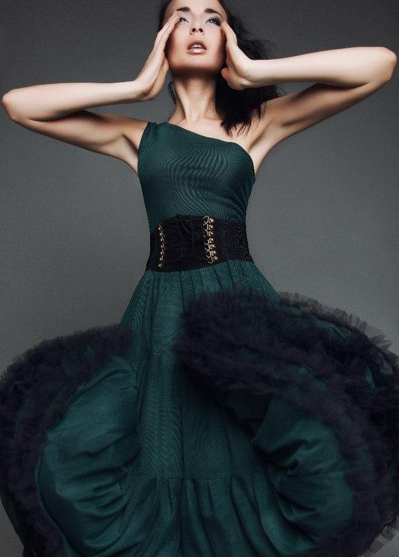 платье, платье вечернее, выпускной, платье для выпускного, платье на выпускной, платье коктейльное, зеленое платье, темно-зеленое платье