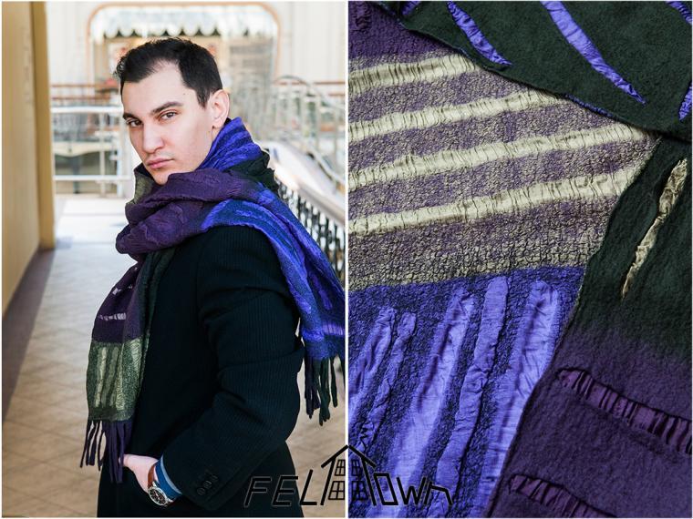 мужской шарф, подарок для мужа, man stile