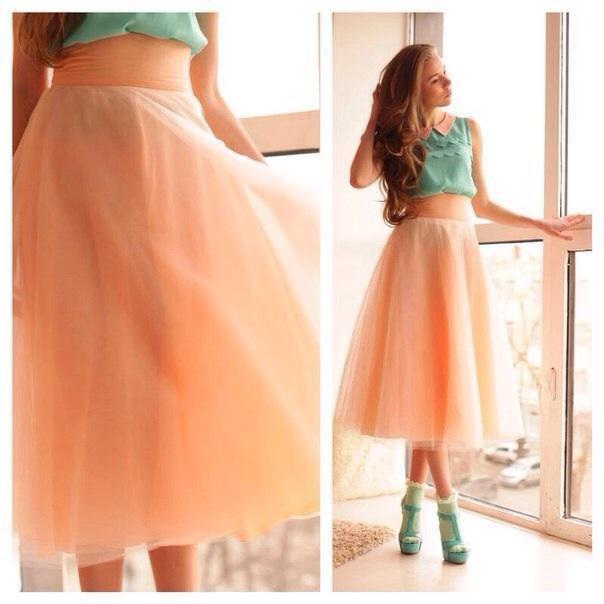 суперпышная юбка