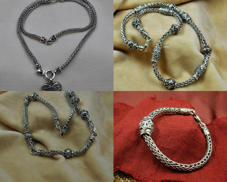 плетение, серебро, цепочка