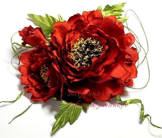 цветы, гильоширование, мастер-класс, брошь-цветок, украшения, обучение, цветы из ткани