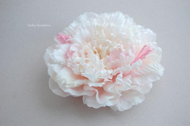 цветы из шелка, цветы из ткани обучение, мастер-класс, шелковая флористика, пион, шелковые цветы