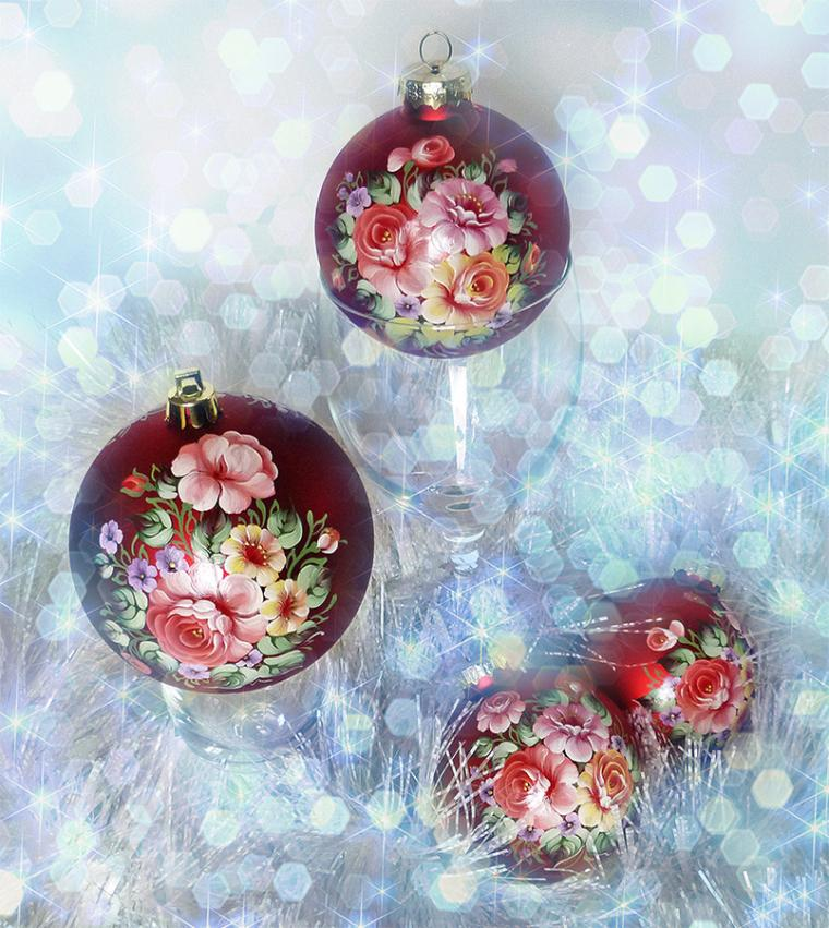 Мои шарики с розами, фото № 1