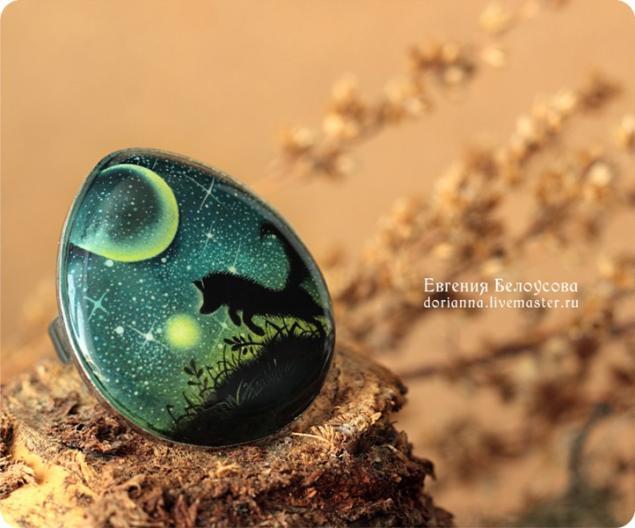 роспись камней