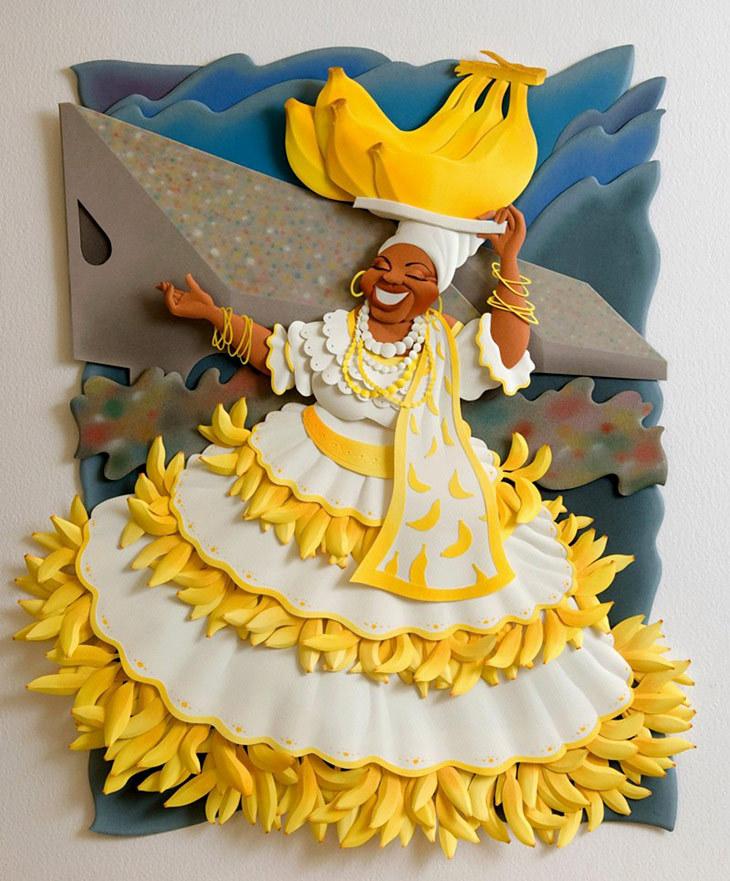 Carlos Meira: рисующий бумагой - Ярмарка Мастеров - ручная работа, handmade