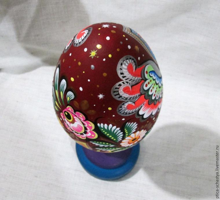 Делаем пасхальное яйцо «Сирин», фото № 19