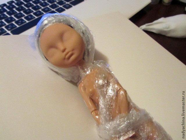 перерисовка лица куклы, фото № 3