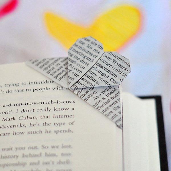 необычные закладки для книг