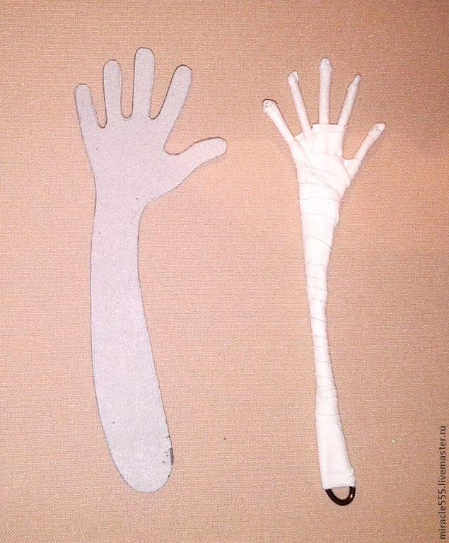 рука персонажа