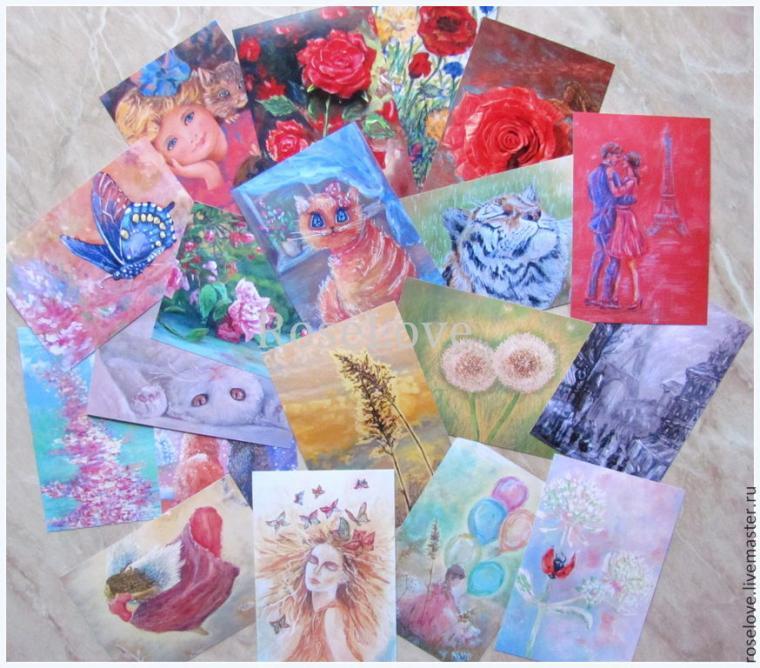 конкурс с призами, конкурс подарков, день рождения магазина, авторские открытки, радость, подарок своими руками