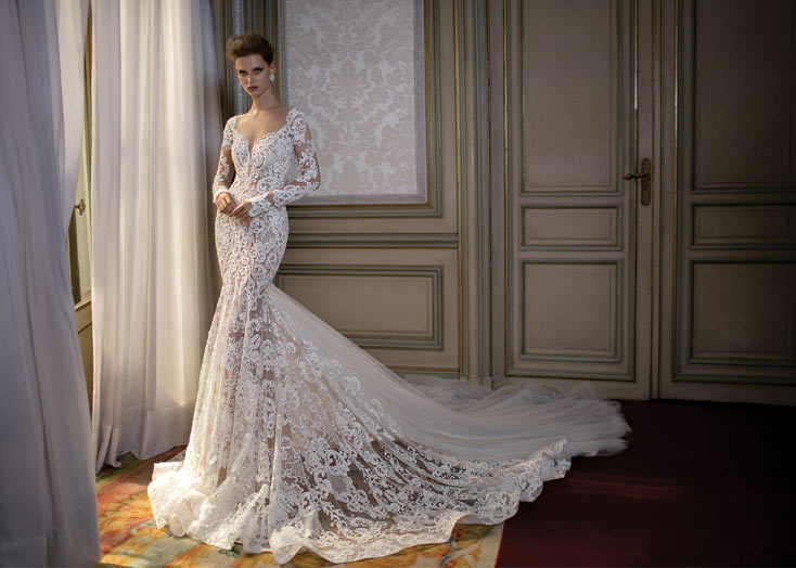 20b36548d61 Коллекция свадебных платьев Berta 2016  окунитесь в мир ...
