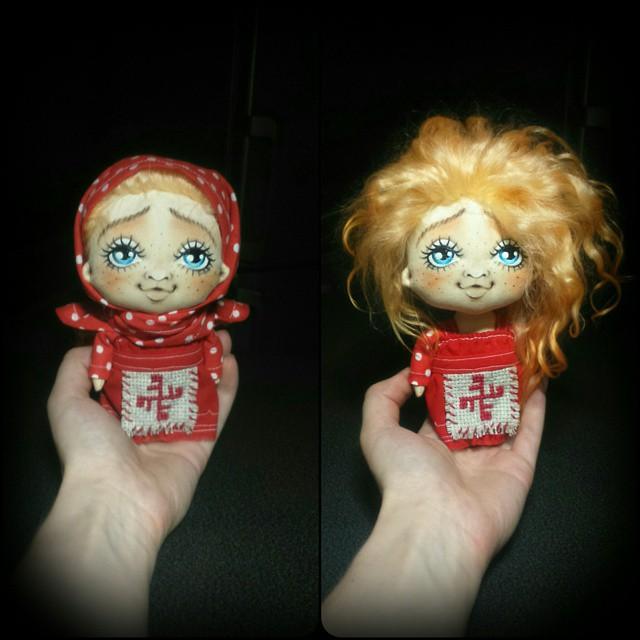 мк кукла, кукла ручной работа, любимая кукла