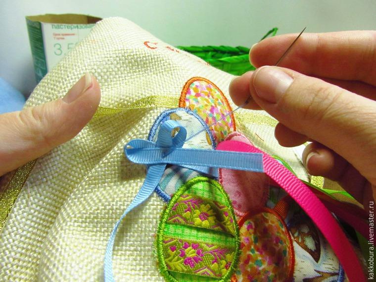 Шьем пасхальную сумку-скатерть, фото № 13